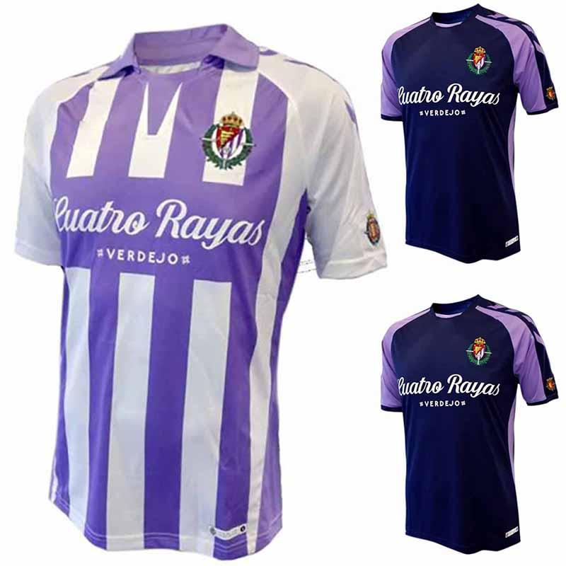 2021 2019 Real Valladolid Home Soccer Jersey 18/19 Valladolid Away ...