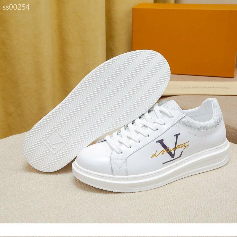 Lv Shoes Vuitton para la venta ocasional de los hombres calzado deportivo de moda los deportes al aire libre del cordón del tamaño de viaje Ligera 39-44