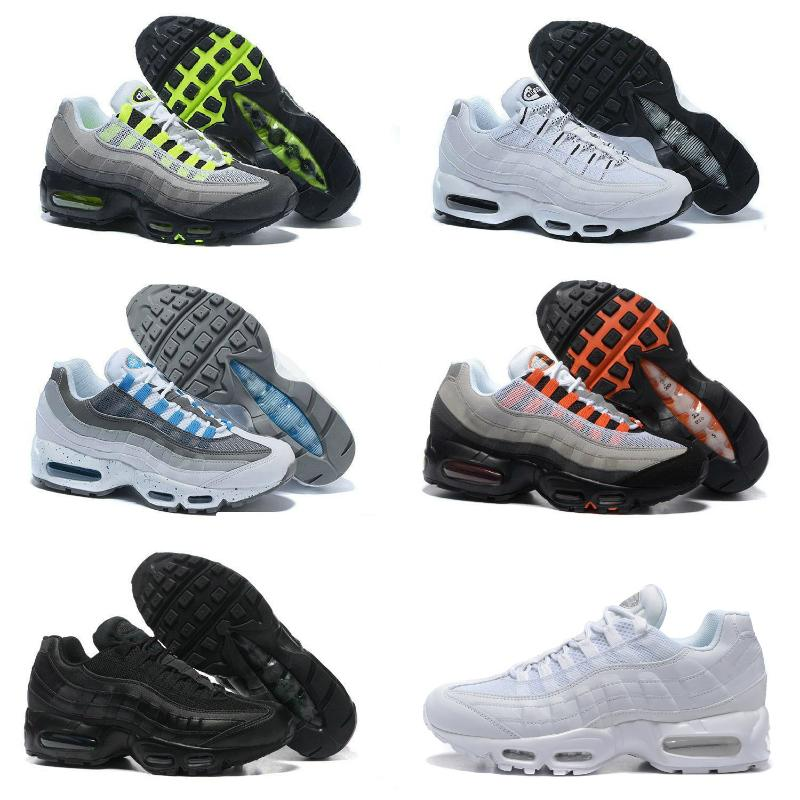 Sale Ultra 95 OG X 20th Anniversary Men Running Sports Shoes Cheap Designer Air Black Sole Grey Blue Trainers Tennis Fashion Sports Shoes