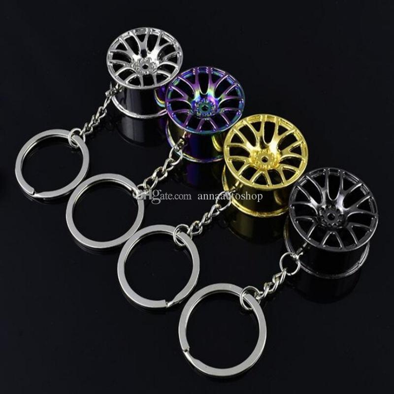 سيارة المفاتيح عجلة صور التصميم الإبداعية البسيطة مفتاح سيارة حلقة مفتاح سيارة سيارة سلسلة كيرينغ لسيارات BMW أودي هوندا فورد الجديد