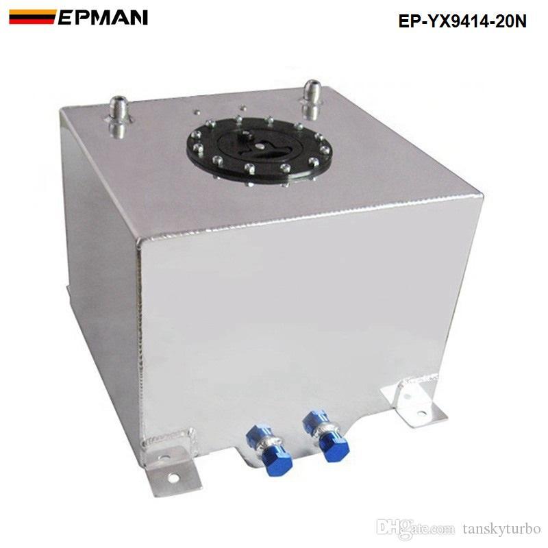 EPMAN Evrensel 20 litre yakıt dalgalanma tankı girdap pot sistemi alaşım alüminyum ep-yx9414-20n Stokta var