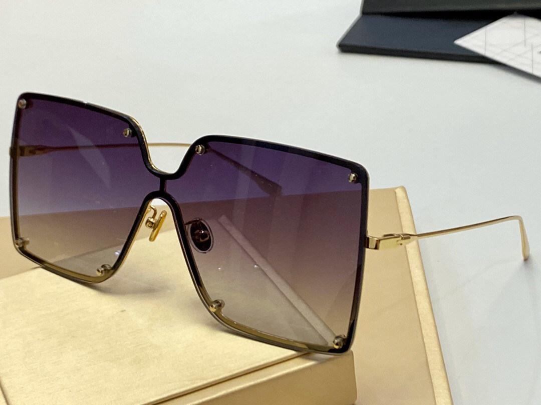 0307 donne degli occhiali da sole per le donne protezione UV speciale Designer Vintage grande piazza telaio superiore libero viene con l'imballaggio