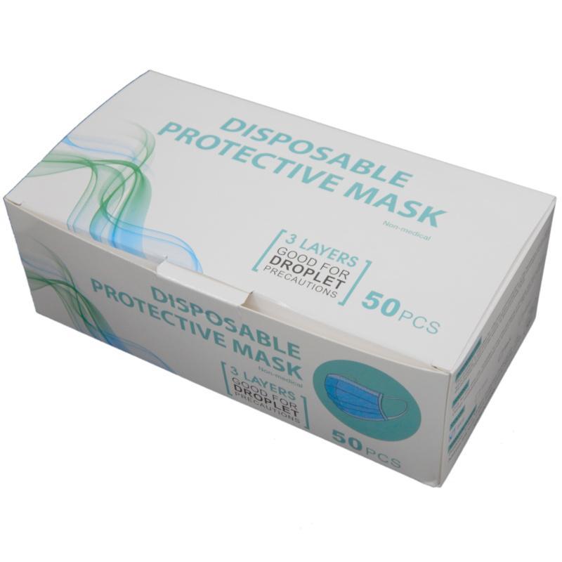 Máscaras desechables de EE. UU. Ear 50pcs / bolsa de la bolsa de bucle alto FA Kangxin Envío protector de protección rápida-contaminación aérea VCATM ELASTIC LHOGF INGLX