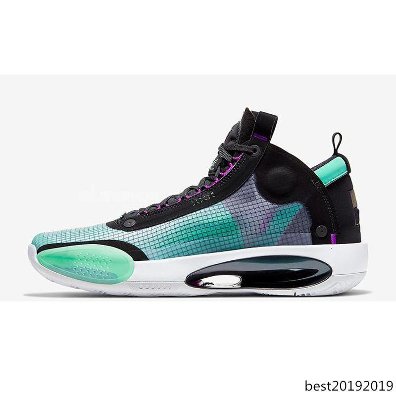 2020 nuovi mens 34s Jumpman scarpe da basket 34 XXXIV BLU 34s VOID ECLIPSE uomini esterni sneakers scarpe da ginnastica scarpe firmate Athletic dimensioni 7-12