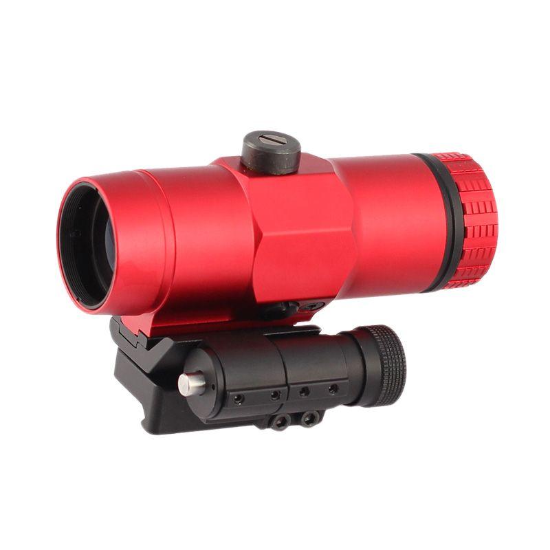 Taktischer VMX-3T 3X-Lupe-Hunting-Rifle-Umfang mit Wechseln zu Side-QD-Halterung-Fit-holographische rote DOT-Gültigkeit