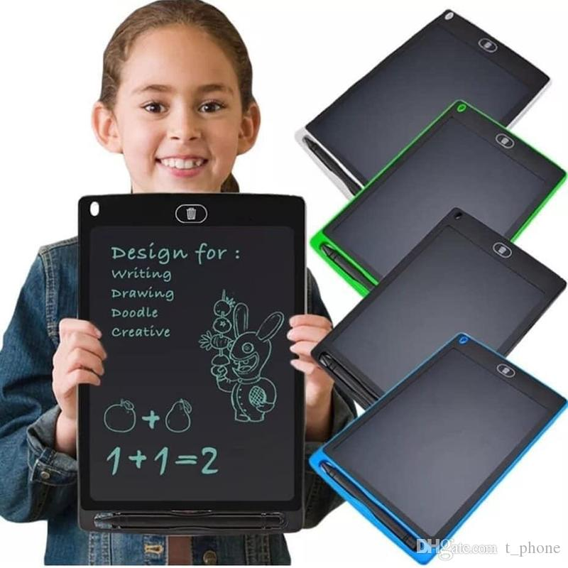 창조적 인 8.5 인치 초박형 LCD 쓰기 태블릿 디지털 그리기 태블릿 장난감 필기 패드 그래픽 전자 태블릿 보드