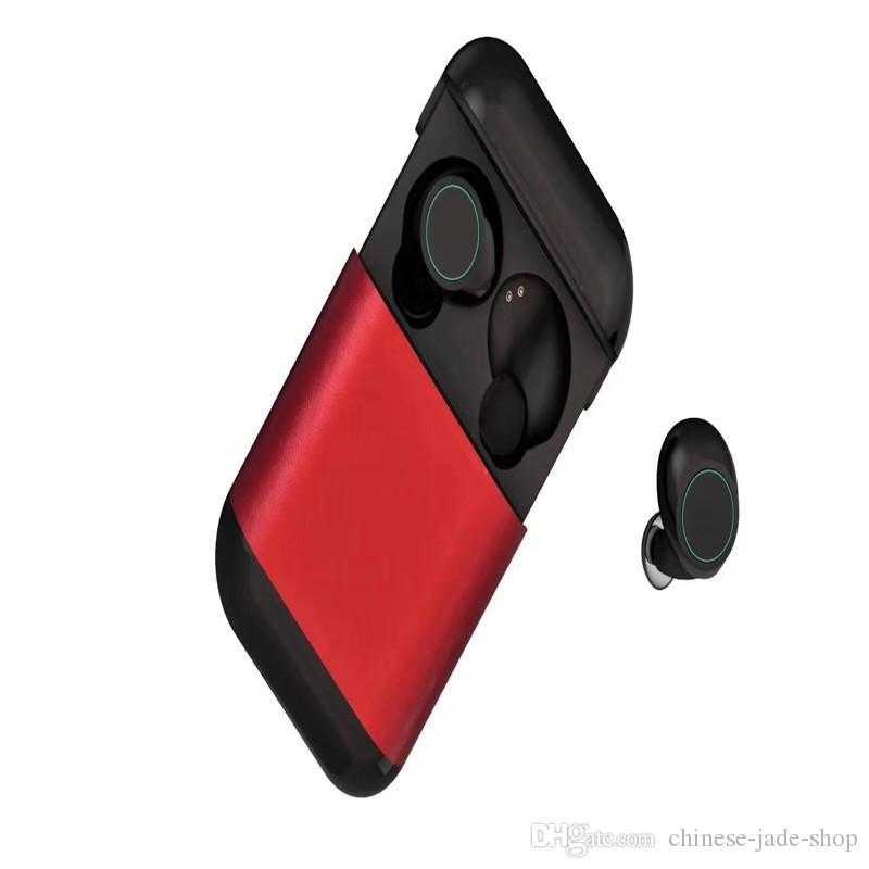 S7 TWS 5.0 Słuchawki Bluetooth Earbuds Bezprzewodowe Słuchawki Prawdziwe Stereo Zestawy słuchawkowe Słuchawki Z Mikrofonami Pudełek Ładowania 22 sztuk / partia