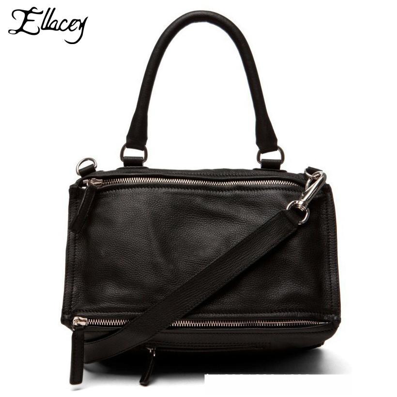 Ellacey 2019 Известный ив моды звезды Стиль дизайна Pandora сумки на ремне сумки Messeger мягкий PU кожаная сумка Двойной Стиль