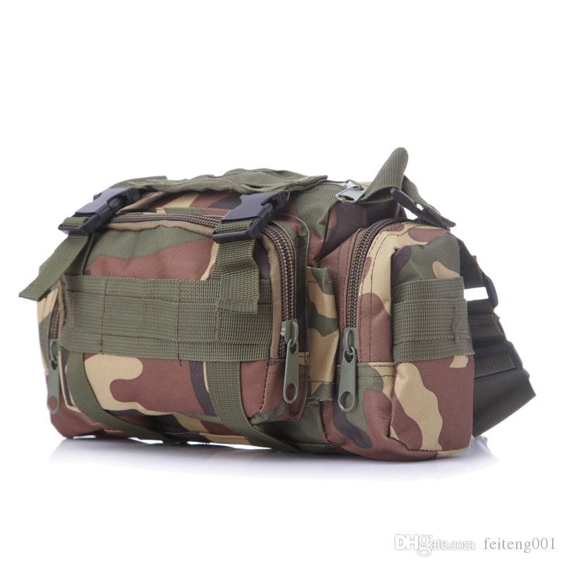 Outdoor 3P Magic Tactical Waist Pack Molle Shoulder Bag Camo Camera Pouch Camping Hiking Hunting Field Army Military Waterproof #159136