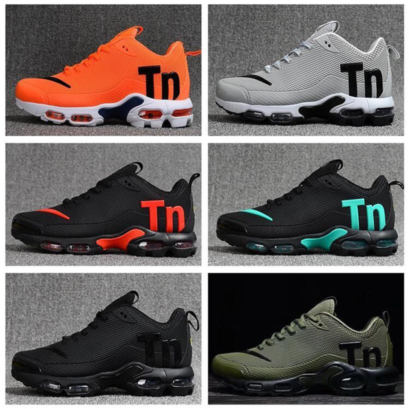 2020 neuesten Männer Mens Airs Mercurial TN Plus-III 3 tn Triple Black Grau Laufschuhe plus TN Schuhe Turnschuhe Sport Turnschuhe Großhandel