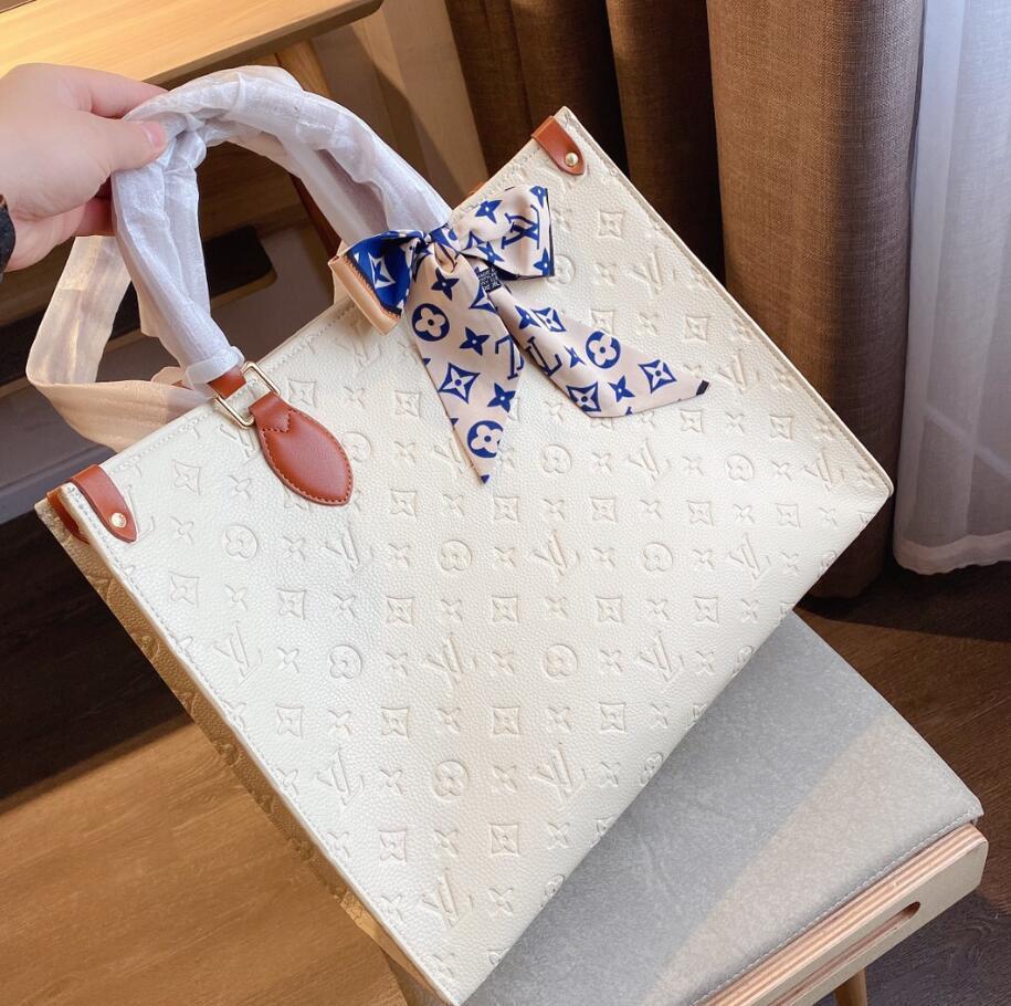 borsa a tracolla delle donne del cuoio genuino 2020 sacchetto di marca del progettista borsa delle signore borse a tracolla classica totes della Madonna nave veloce borse del raccoglitore 37