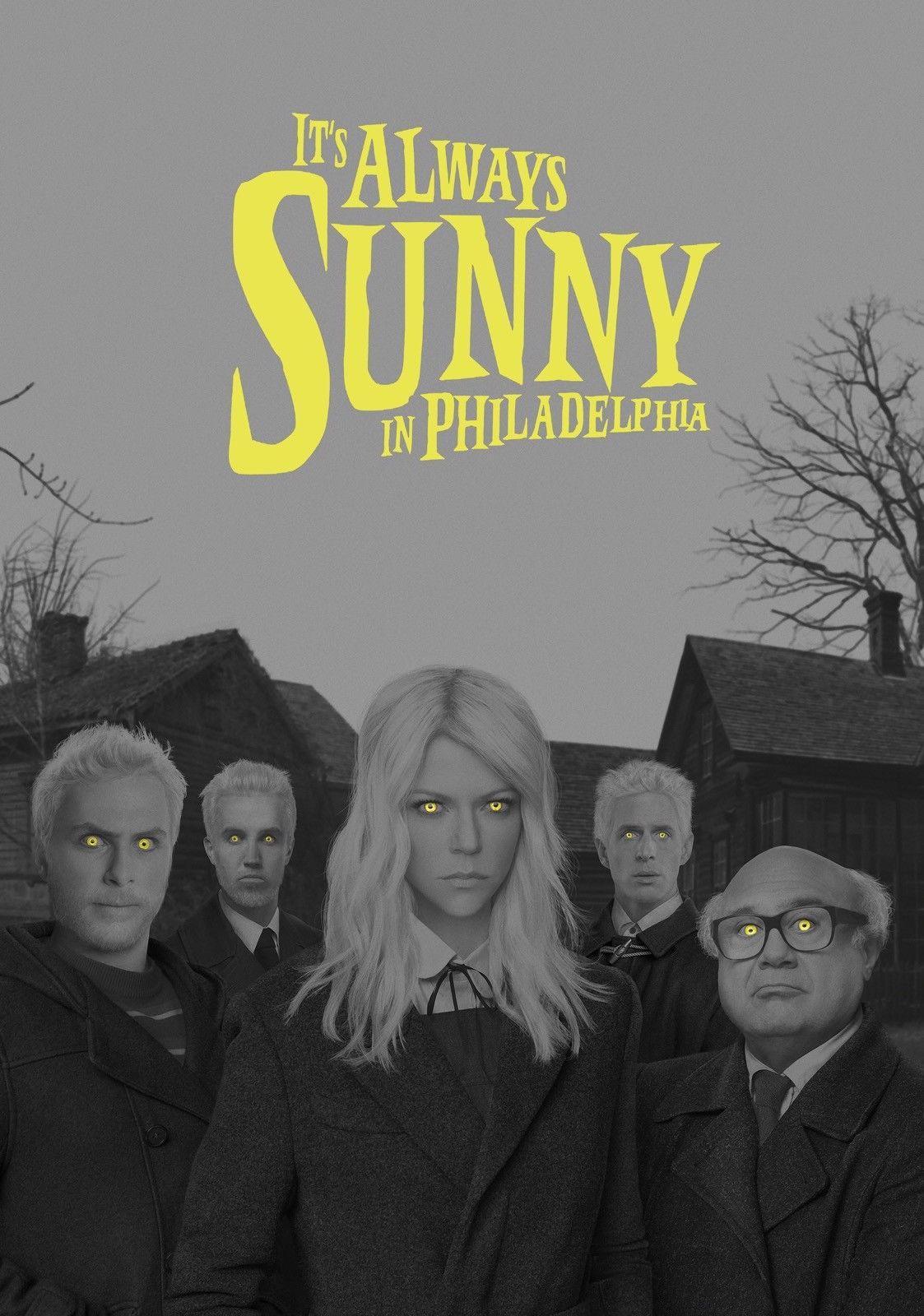 Es ist immer sonnig in Philadelphia Serie TV Foto Stampa Poster Serie Ghisa Art Silk Print Poster 24x36 Zoll (60x90 cm)