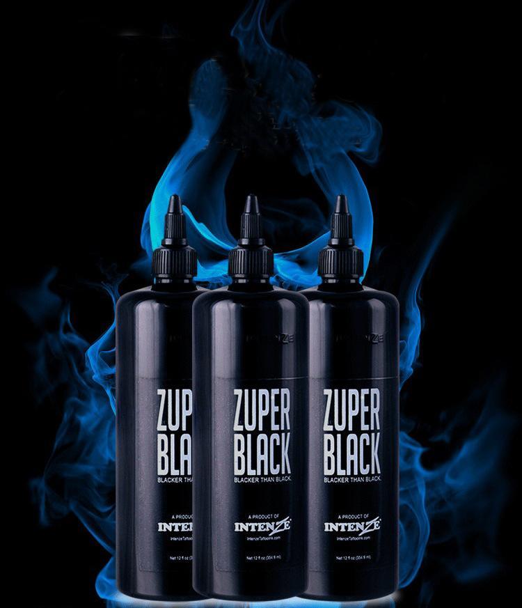 Grand Aqua inchiostro nero tatuaggio permanente 12 oz (360ml) Pittura del corpo permanente Nero Ink Tattoo