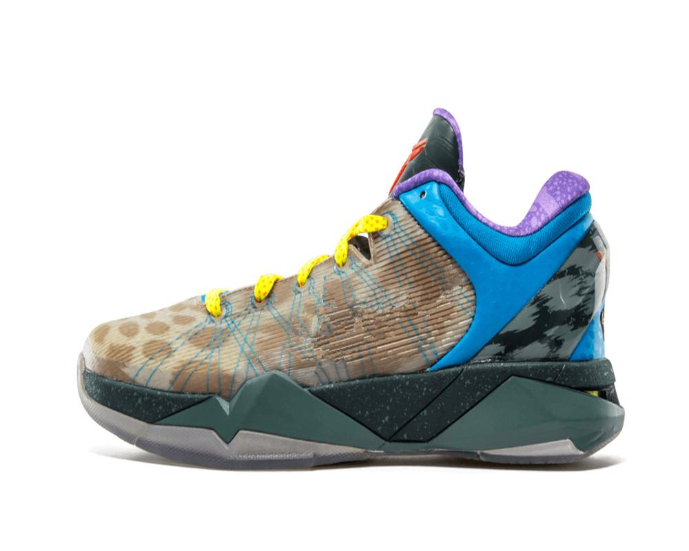 أسود مامبا 7 ما أحذية كرة السلة للرجال جودة عالية VII عيد الميلاد الرياضة الحذاء مع مربع