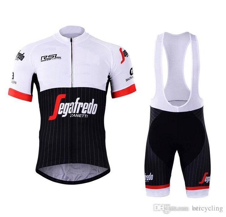 TR 2018 Maillot cyclisme Maillot Ciclismo à manches courtes et cyclisme (bavette) de vélo de vélo Short Kits Sangle Ciclismo de B18092101
