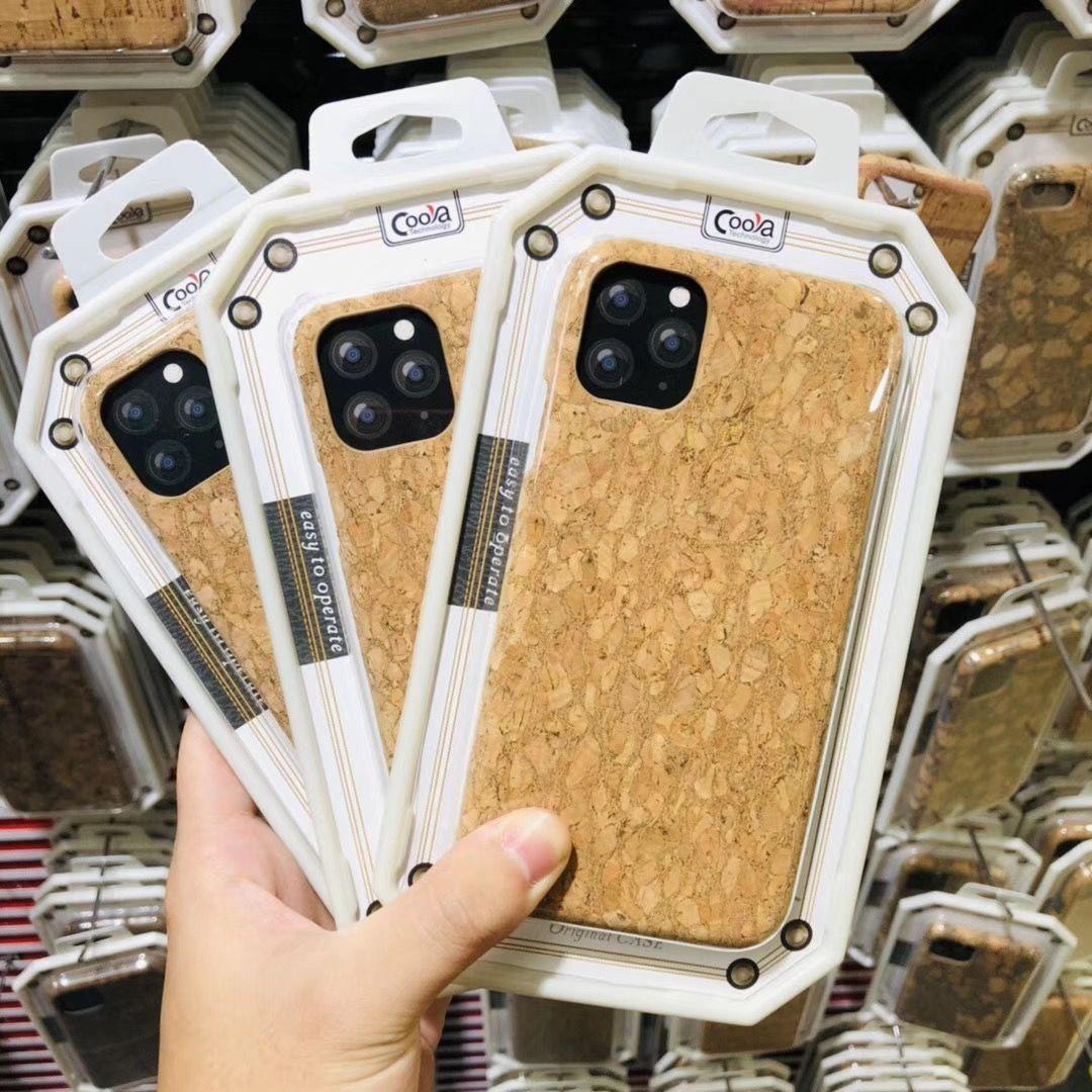 ل2019 اي فون الجديد 11 برو ماكس XR إكسس ماكس 8 7 6S بالإضافة إلى الخشب الحبوب حالة الغطاء الخلفي للصدمات القضية للحصول على جديد برو 11 ماكس