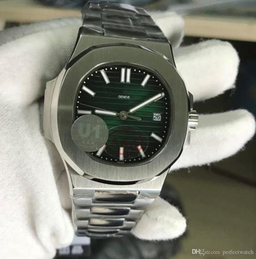 ساعات رجالي ميكانيكية التلقائي الطلب الأزرق شفافة الظهر U1 حركة مصنع محفورة الفولاذ المقاوم للصدأ حزام قابلة للطي مشبك