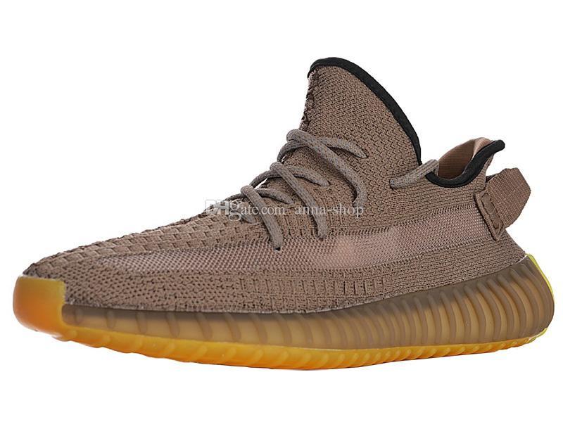 Kenye occidentale V2 Terra scarpa da tennis per statica scarpe Sneakers Mens kanyewest sport degli uomini scarpa da corsa delle donne Womens formatori Maschile Femminile Trainer
