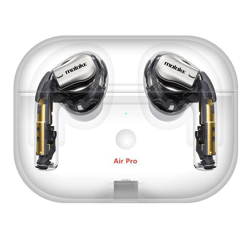 2019 New Arrivel AirPro Air2 wireless Earphones Noise Canceling Bluetooth Headphones Working Series Number GPS Headsets Drop shipping