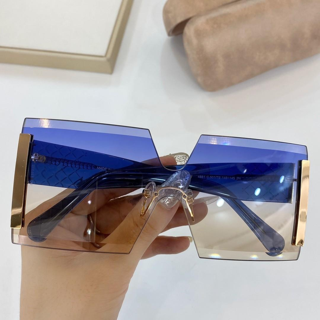 Sol vendiendo popular de calidad 4881 gafas de sol para hombre gafas de sol hombres Gafas Mujer Sol Top Top Últimas gafas de moda UV400 Lens Wit Snkie