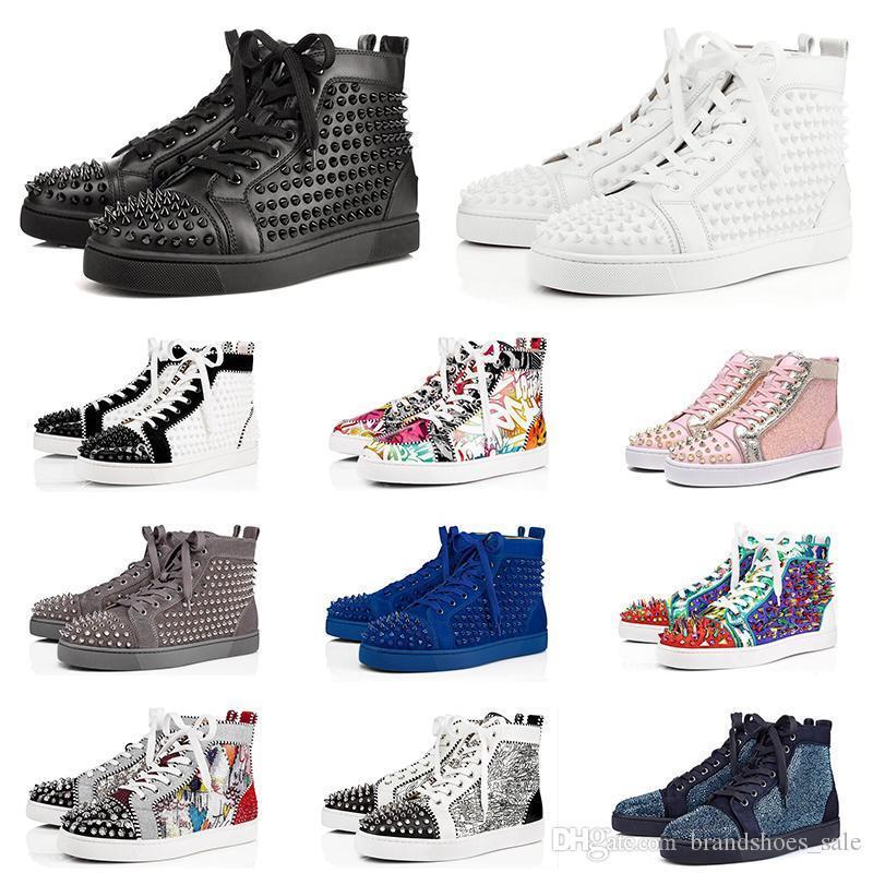chaussures de marque pour hommes, femmes plates baskets mode pic hommes en cuir triple daim rouge noir blanc bleu trainer fond chaussures de luxe