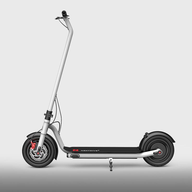 2020 Yeni 2 Taş Motoru 350W Elektrikli Scooter 10inch