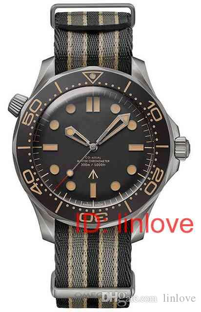 Fashion Luxury diamond 007 limited editon mens automatic movement Women designer master Watch watches Stainless Steel Wristwatches 2020