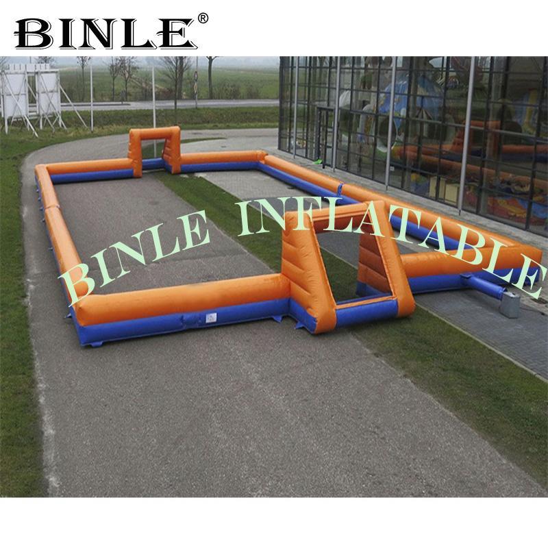 ضربة المحمولة المخصصة حتى نفخ كرة القدم الملعب، ملعب لكرة القدم قابل للنفخ، قابل للنفخ لكرة القدم المحكمة Arena لعبة في الهواء الطلق