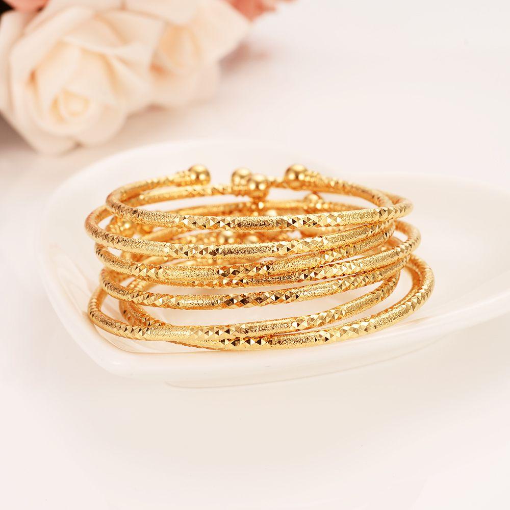 يمكن فتح الأزياء دبي الإسورة مجوهرات الصلبة غرامة الذهب الأصفر gf دبي سوار للنساء أفريقيا البنود العربية السعر اختر