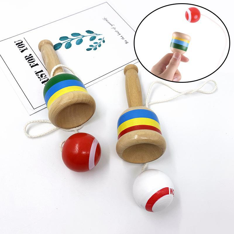 Fun Skill Cup Sword Ball Hand-Eye Coordination Exercise Toy Competition Item Interactive Early Educational Toys For Children