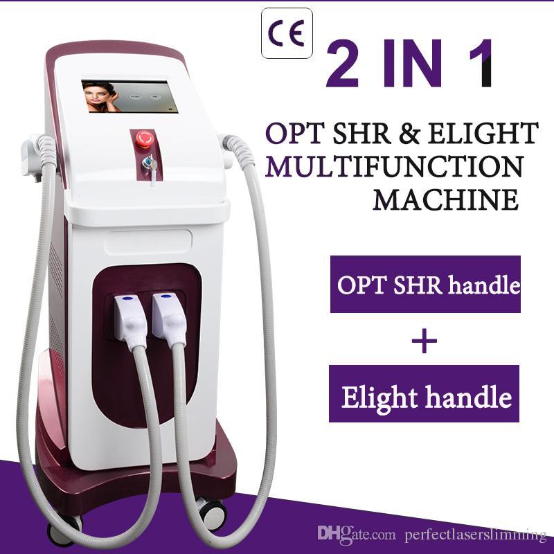 7 Filter Elight Laser IPL RF OPT SHR schnelle Haarentfernung Maschine Elight Hautpflege Verjüngung Gefäßentfernung Schönheit Ausrüstung
