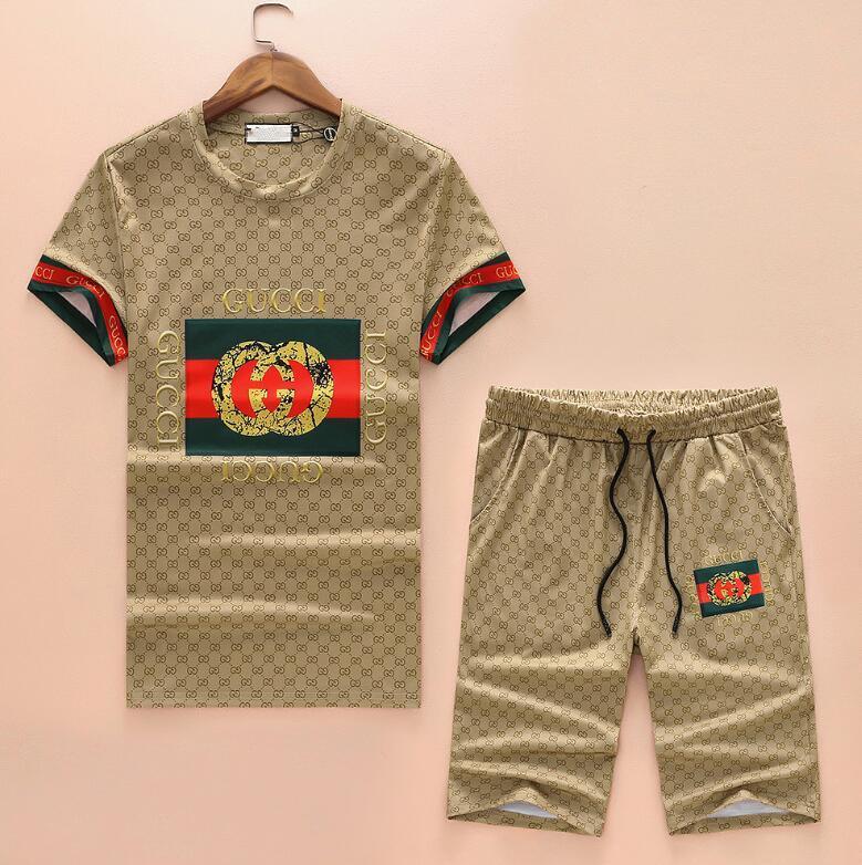 해외 최신 유행 세이코 자수 T 셔츠 코튼 패션 스포츠웨어 남성 T 셔츠 정장 폴로 셔츠 반바지