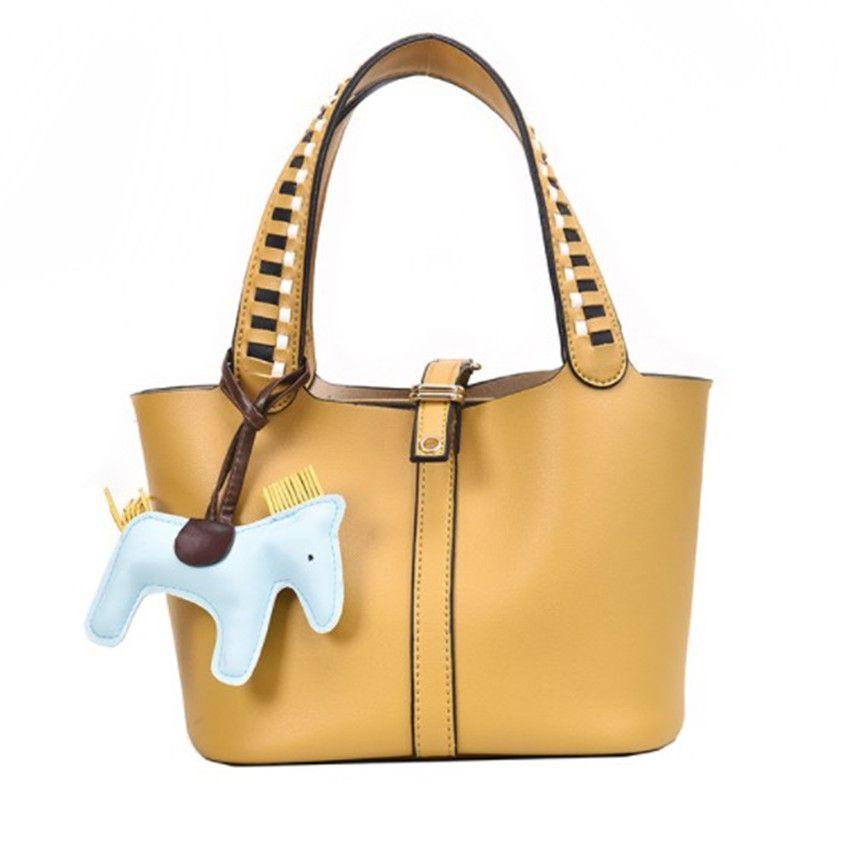 Дизайнер Портативный Bucket Bag Мода Матерью ребенка Сумки Tide Одно Плечо Fashion2 PH-CFY2001123