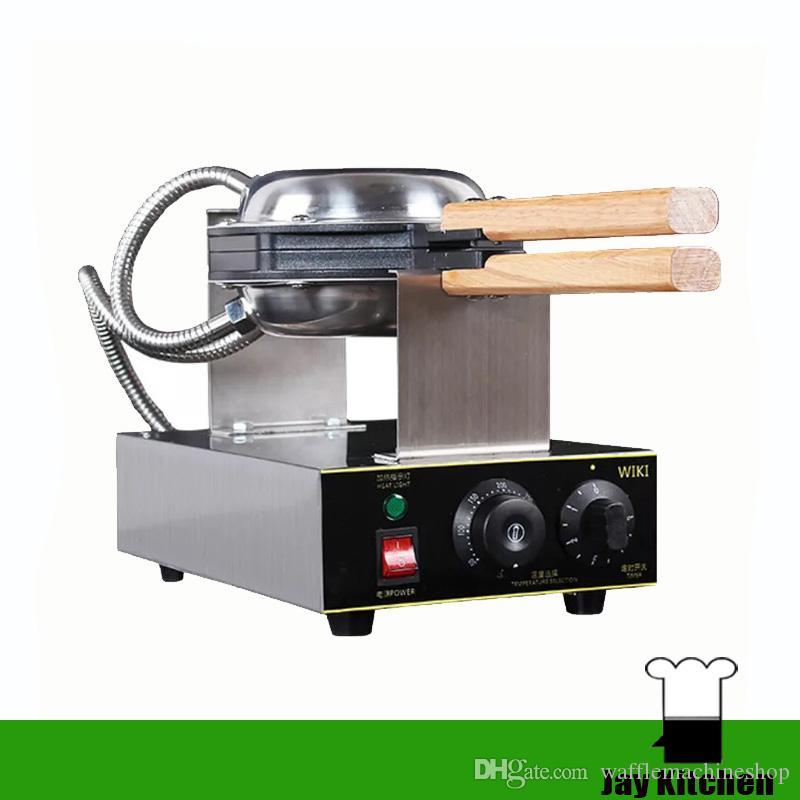 Commecial kabarcık waffle makinesi elektrikli Çin Hong Kong yumurta waffle makinesi puf waffle makinesi kabarcık yumurta kek fırın kabar ...