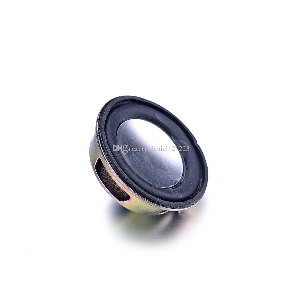10PCS رئيس القرن 3W 4R القطر 4CM البسيطة مكبر للصوت مكبر الصوت المطاط طوقا البوق
