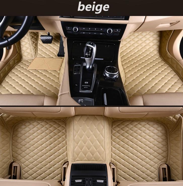 Suitable for Audi A1 A3 A4 A5 A6 A7 A8 A8L Q3 Q5 Q7 R8 S1 S3 S4 S5 2006-2019 car mat environmentally friendly tasteless non-toxic mat