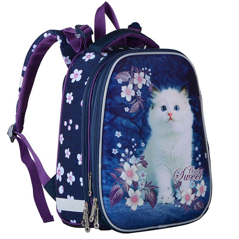 Bags Backpack Grade 1-3-6 New School Girls alta infantil Qualidade ortopédico Satchel dos desenhos animados Mochila Escolar para a menina Schoolbag