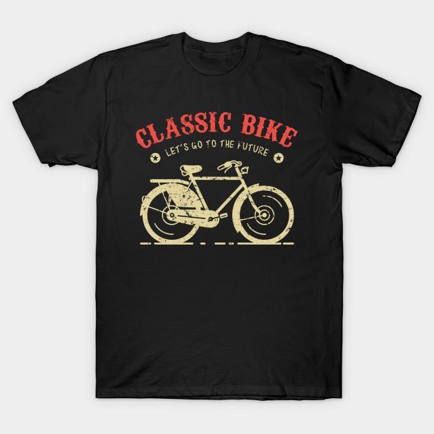 Homens camisetas camisa Classic Bike camisetas Mulheres t