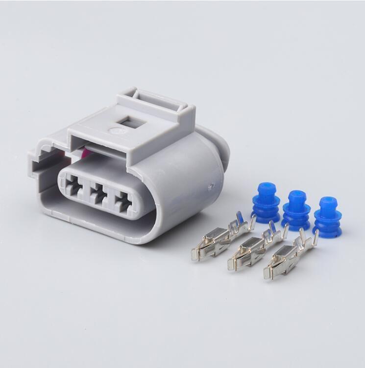 70set Бесплатная доставка 3 Pin 1J09737236 1J0973723G 3.5mm Авто туман свет лампы Разъем датчика коленвала Разъем для VW