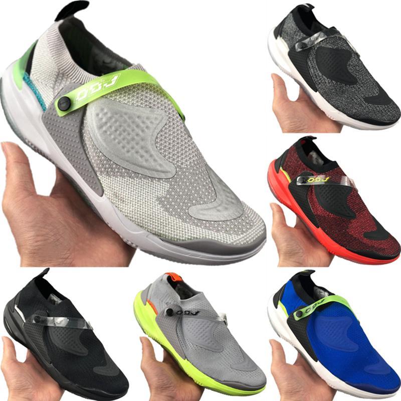 Com Box Joyride Run Racer estiramento Knit Deslizamento-em sapatas Running Original Joyride Run Reagir Escudo Zoom Air Built-in Particle Jogger Shoes