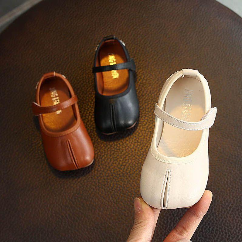 Nuevas 2020 muchachas de la manera zapatos de primavera niño zapatos de niño zapatos de diseño PU de la muchacha muchachas del zapato de cuero de zapato de vestido princesa B83 menor