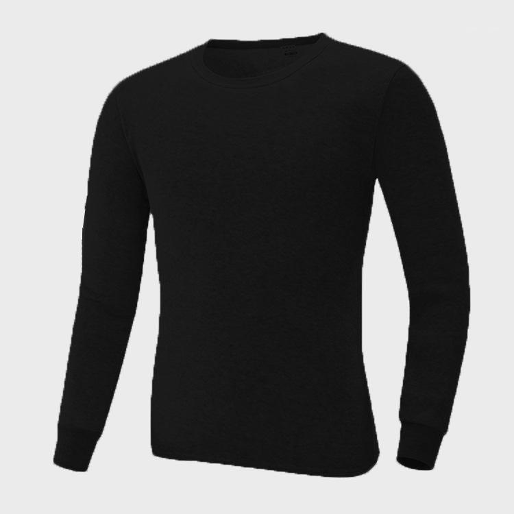 Пижамные наборы футболки брюки 2шт пижамы костюмы нижнее белье тощее зимнее теплое нижнее белье