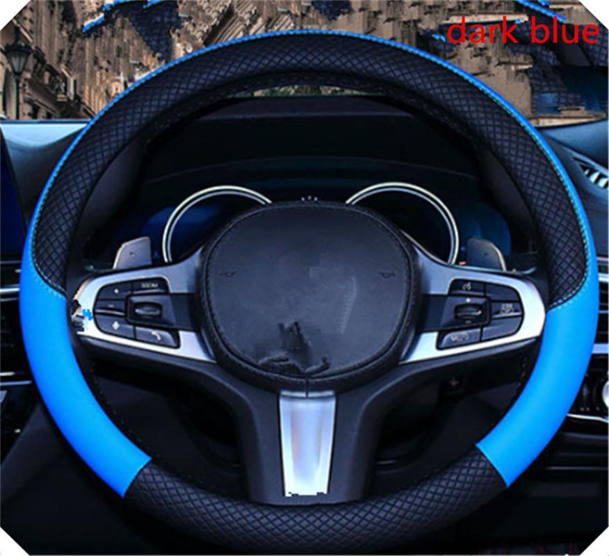 di modo antisdrucciolevole auto volante cuoio copertura 37-38 cm per Tipo Qubo Panda Mobi 500X Argo 500L 124