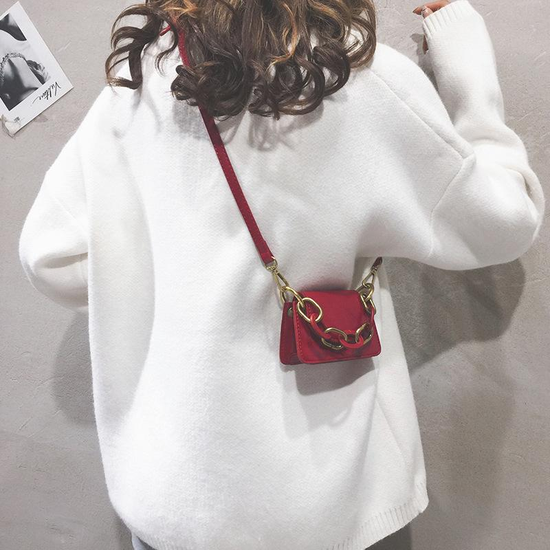 Mini Sacs à bandoulière femmes Pu cuir Mode chaînette épaule Messenger Sac 2020 Sac à main design Sacs fourre-tout décontracté pour Femme