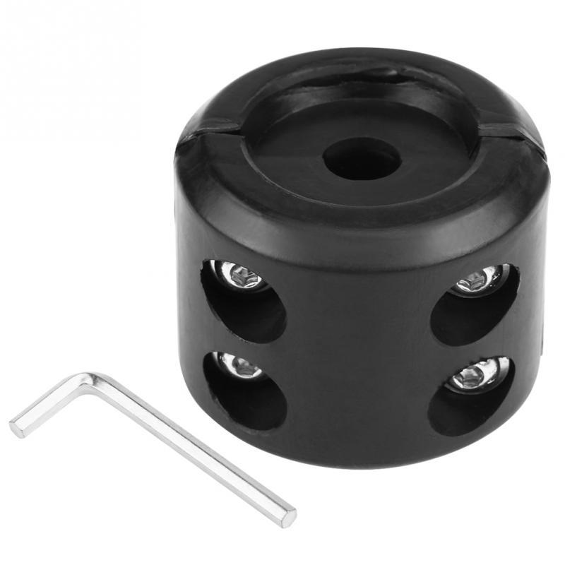Good Performence Universal UTV Winch Accessories Winch Cable Hook Stopper  BlACK
