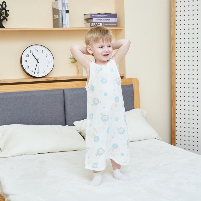 1baby sacchetto di mussola a pelo mussola bambino Sacco a pelo dei bambini dei capretti toddle beddingBaby Saco De Dormir Para Sacchi Sleepsacks