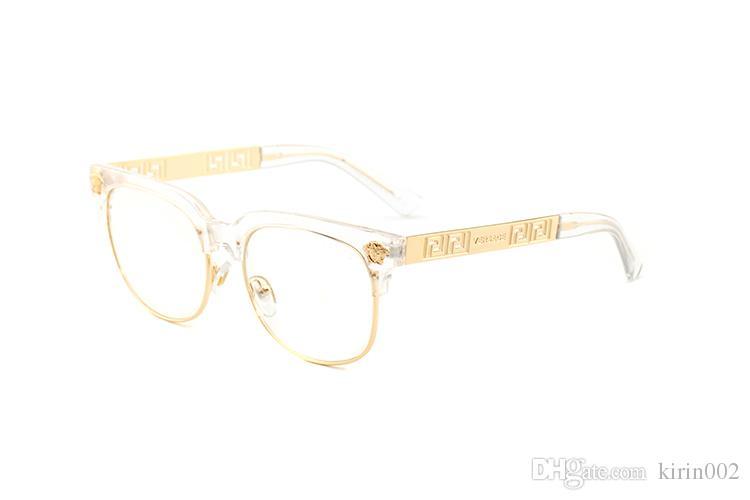 Occhiali da sole rotondi di moda Occhiali da sole Occhiali da sole firmati Marchio nero montatura in metallo Lenti vetro scuro da 52 mm per le migliori custodie da uomo