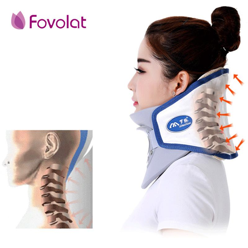Health care neck cervical traction device inflatable collar household equipment health care massage device nursing care