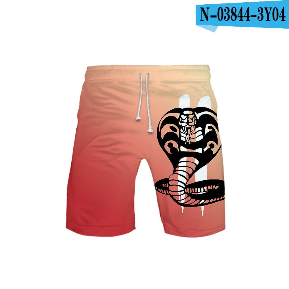 Cobra Kai Fist Men Summer Casual Shorts,Beach Shorts Board Shorts
