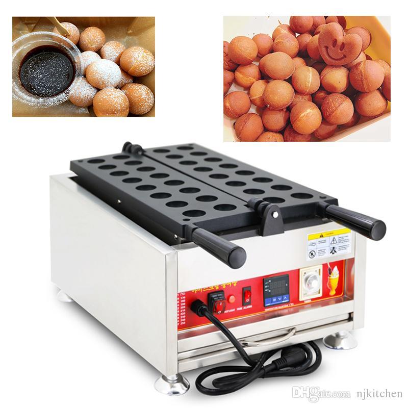 110 v 220 v Elektrikli Bal Bebek Castella Makinesi Küçük Sünger Kek Demir Baker Dijital Japon Yumurta Waffle Topu Makinesi Aperatif Makineleri